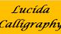 lucida-calligraphy